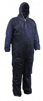Maxisafe Disposable Spray Paint Suit Protective Overall Coverall Blue