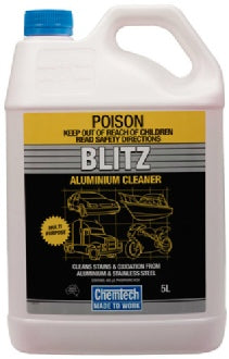 Chemtec Blitz Industrial Strength Aluminium Cleaner 5lt