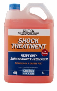 CHEMTECH Shock Treatment Heavy Duty Biodegradable degreaser 5lt