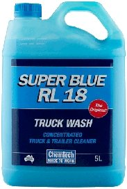 Chemtech Super Blue RL18 Concentrated Truck and Trailer Cleaner Wash 5lt
