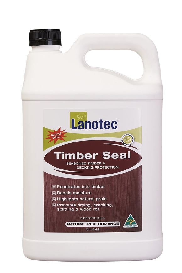 Lanotec Timber Seal Decking Protection (Repels Moisture, Prevents Cracking) 5L