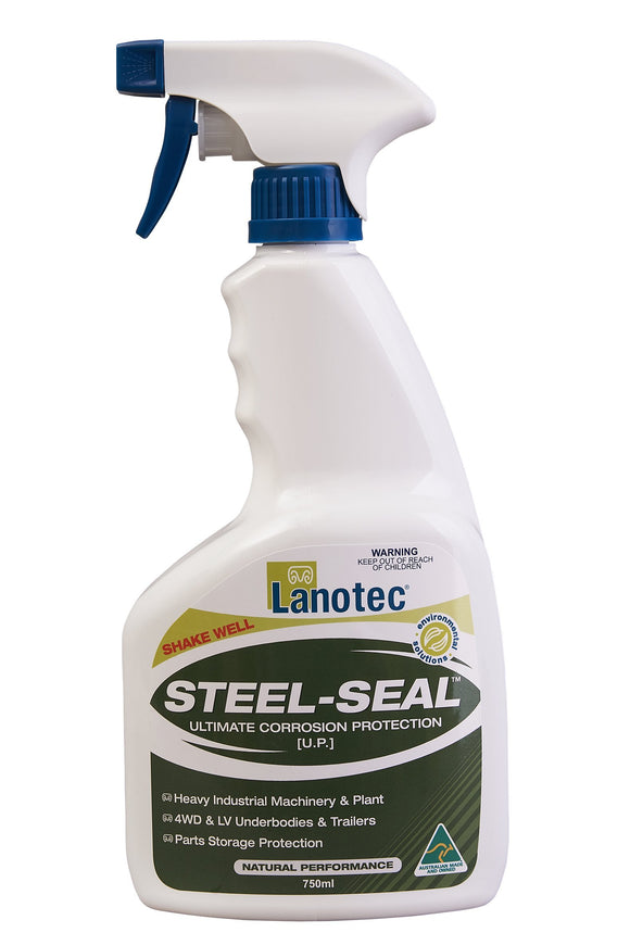 Lanotec Lanolin Steel-Seal Corrosion Protection 4WD Trailers Ag Marine 750ml