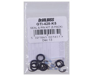 DeVilbiss Seal & Pin Kit 5 Pack GTI-428-K5