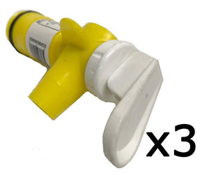 Drum Tap Yellow & White Multi-Purpose Lift Top 3 Pack