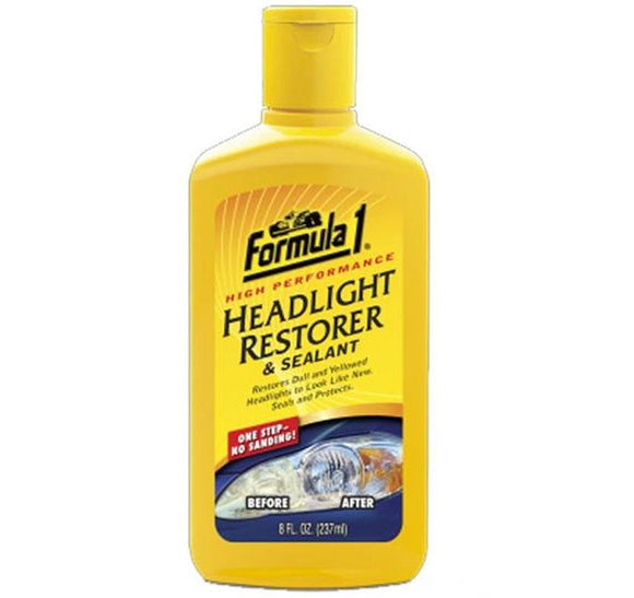 F1 Headlight and Plastic Restorer Restoration Sealant 237ml