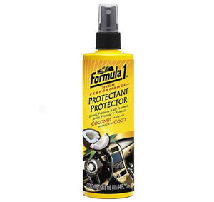 Formula 1 Auto Car Care Protectant Shines Freshens - Coconut Fragrance 315ml