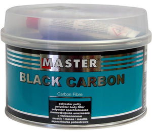 Troton Master Black Carbon Fibre Reinforced Polyester Putty Body Filler 1L