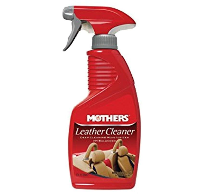 Mothers Leather Cleaner Deep Cleansing Moisturiser 355ml 06412 Auto car
