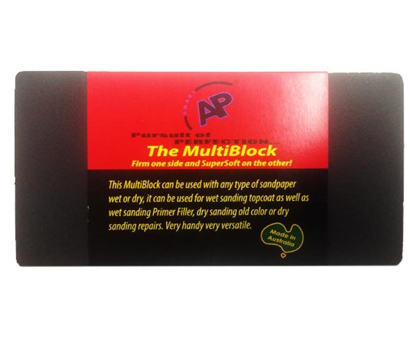 AP The MultiBlock Double-Sided Hand Sanding Block