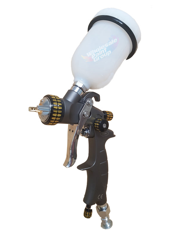 2Spray Mini Gravity Feed Spray Gun - 1.0/1.2mm Setups PS.MINI