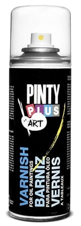 Pinty Plus Waterbased Clear Satin Varnish 300gm Spray