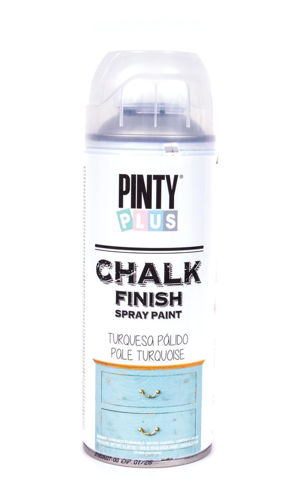 Pinty Plus Chalk Spray Paint 400ml Oliva Broken White