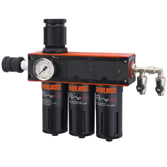 Devilbiss Pro Air 3 Filter Regulator