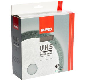 Rupes Bigfoot 9.BF180U UHS Polishing Foam Pad 2 Pack 180mm