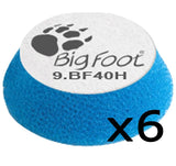 Rupes iBrid Bigfoot Blue Coarse 30/40mm Polishing Pad 9.BF40H 6 Pack
