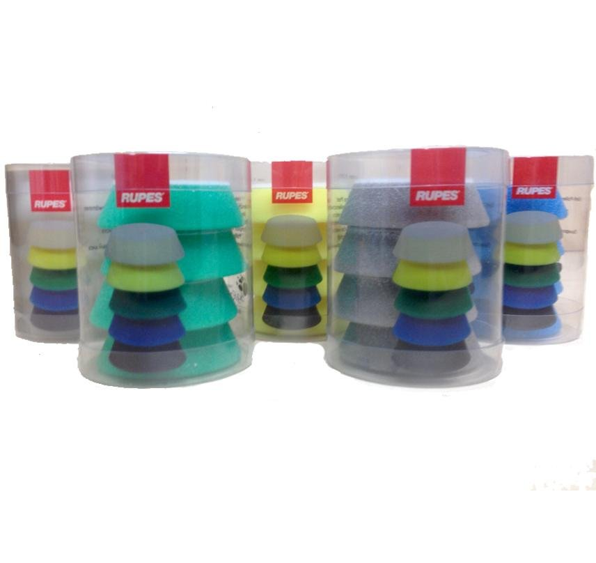 Rupes Bigfoot Nano iBrid 50/70mm Polishing Pad Kit All Grits