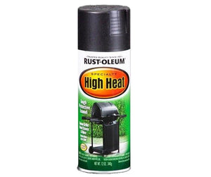 Rustoleum High Heat Tough Protective Enamel Black 340g 12oz
