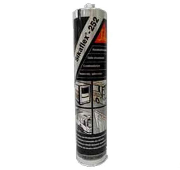 Sika Sikaflex 252 Assembly Adhesive Black 300ml Elastic Bonding Structural Joint