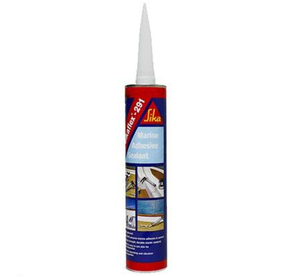 Sika Sikaflex 291 Marine Adhesive Sealant 310ml White Wood Metal Paint Primers