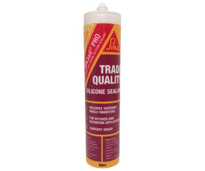Sikasil Pro Sanitary Grade Trade Quality Silicone Sealant 300ml White