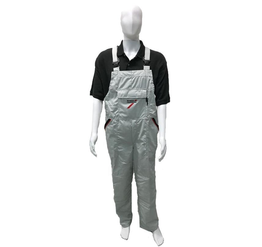 Spies Hecker Reusable Bib Overalls Grey