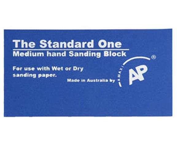 The Standard One Medium Rubber Hand Sanding Block