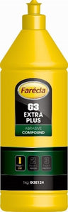 Farecla G3 Extra PLUS Abrasive Cutting Compound Swirl Remover 1L G3E124