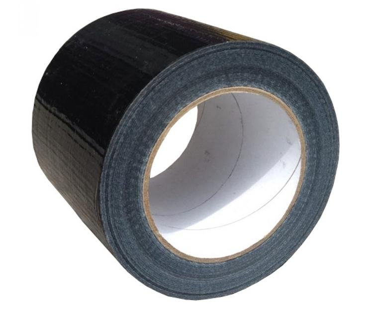 Premium Grade Black Cloth Tape 100mm x 25m Render Duct Blast Gaffa
