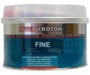 Troton Premium Fine Body Filler Includes Hardener 1.8kg Auto Car Dent Bog Panel