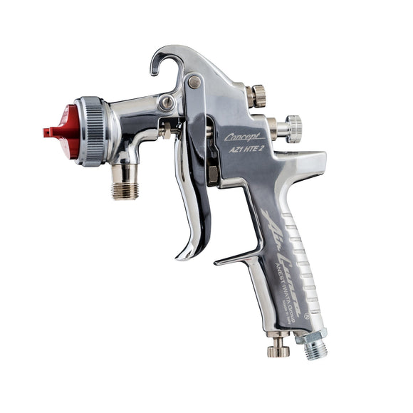 Anest Iwata Concept AZ1 HTE Pressure Feed Spray Paint Gun 1.0mm