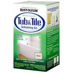 Rustoleum Tub and Tile Refinishing Kit 946ml White