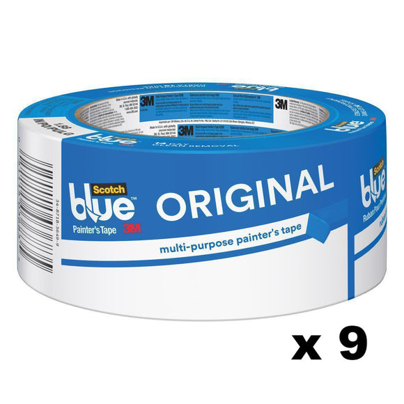 3M Scotch Blue Original Painter's Masking Tape 2090 48mm x 54.8m x 9