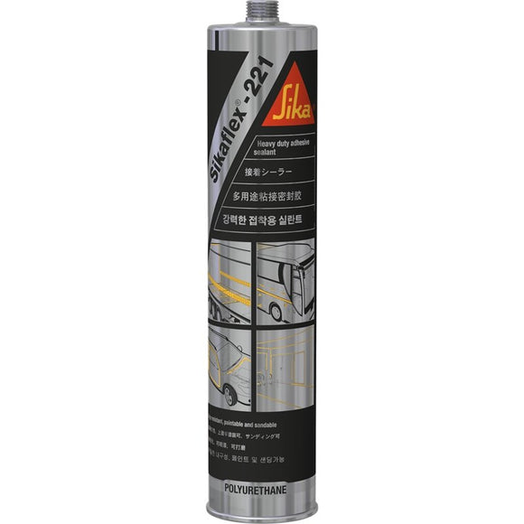 Sikaflex 221 White Multi Purpose Non Sag Adhesive Sealer 310ml