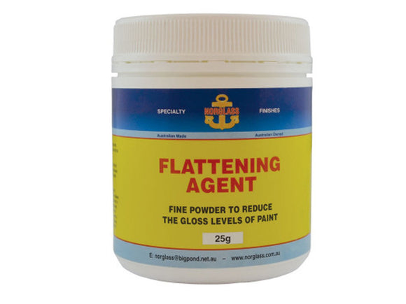 Norglass Flattening Agent 25g Tub Reduce Gloss Level Of Paint Boat Marine