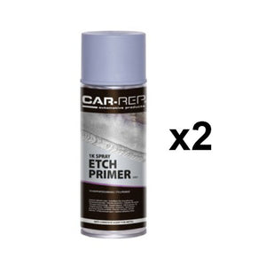 Automotive Etch Etching Primer Spray Paint Bare Metal Aluminium 400ml x 2
