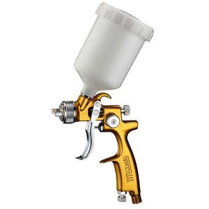 Star V3 Mini LVLP EVOT Gravity Feed Spray Touch Up Gold Gun 1.0mm