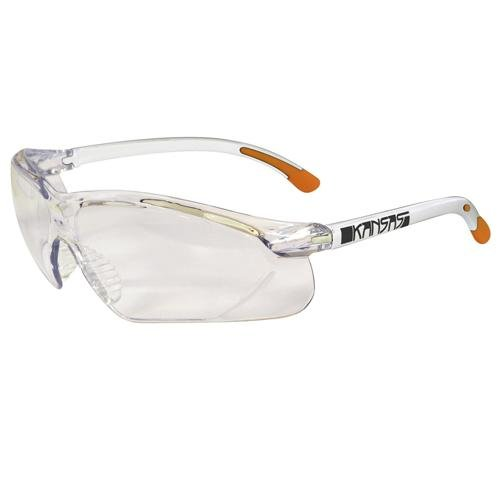 Maxisafe Kansas Safety Glasses AS/NZS1337 Anti Scratch & Fog Coating Clear