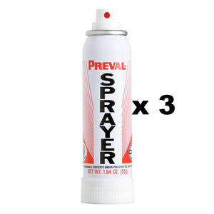 Preval Replacement Compressor Power Unit Paint Spray Gun 55g x 3
