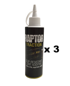 U-POL Raptor Traction White Slip Resistant Additive 400g Bottle Makes 2L x 3