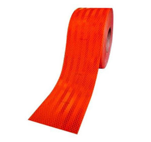 3M Diamond Grade Reflective Vehicle Marking Tape Fluoro Red 100mm x 15m