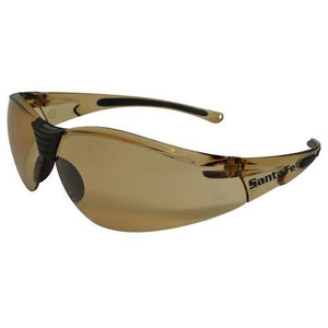 Maxisafe Santa-Fe Safety Glasses AS/NZS1337 Anti Scratch Fog Coating Bronze