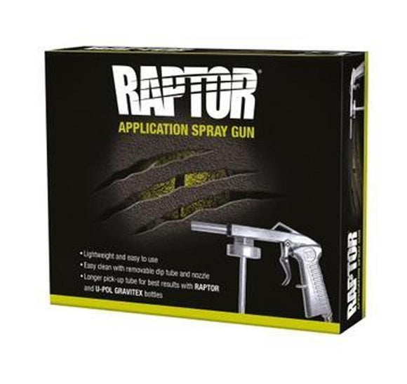 U-Pol Raptor Lightweight Long Nozzle Bed Liner Schutz Spray Gun