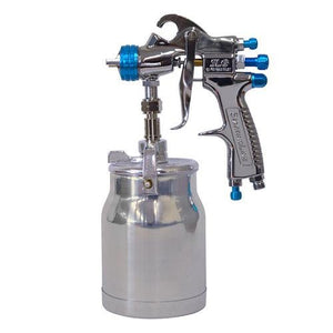 DeVilbiss Starting Line SLG-S600-18 1.8mm Suction Spray Painting Gun & Pot