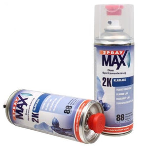 Spray Max Automotive Car 2K Component High Gloss Clear Coat 400ml