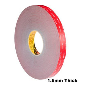 3M VHB Tape GPH-160GF General Purpose High Temp 1.6mm Grey 12mm x 33m