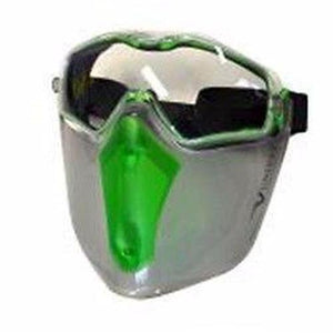 Maxisafe 6x3 Safety Goggle Visor Combo Health Safety Face Eye Protection Shield