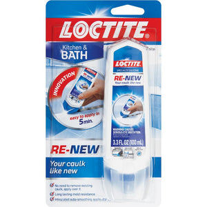 Loctite White Renew Specialty Silicone Bathroom Kitchen Seals 100ml