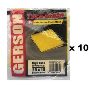 Gerson Soft High Tack Cotton Mesh Standard Cloth 20 x 16 10 Cloths