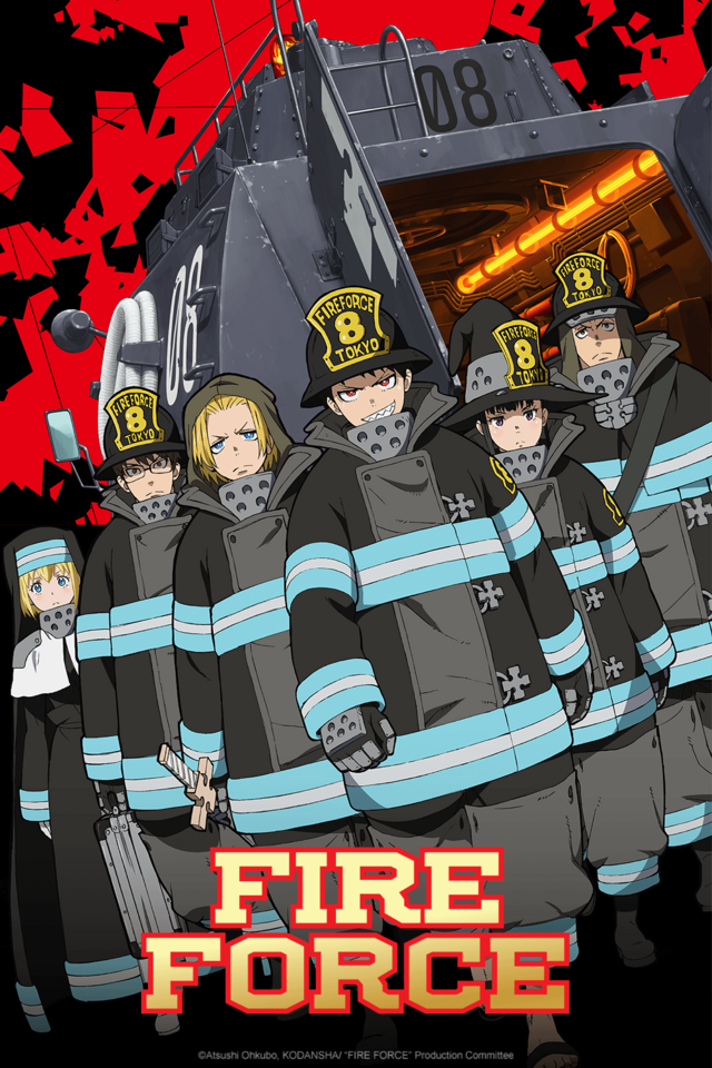 Fire Force Set For Summer '19 Release