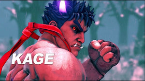 Street Fighter V Reveals New Playable Character Kage